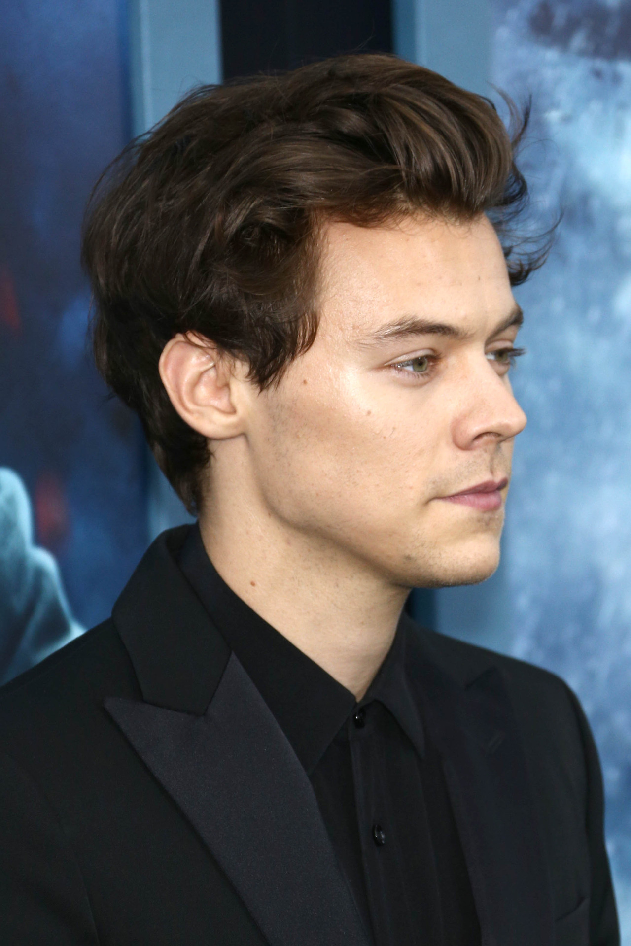 hair styles at home harry styles at the new york premiere of dunkirk july 18 4540