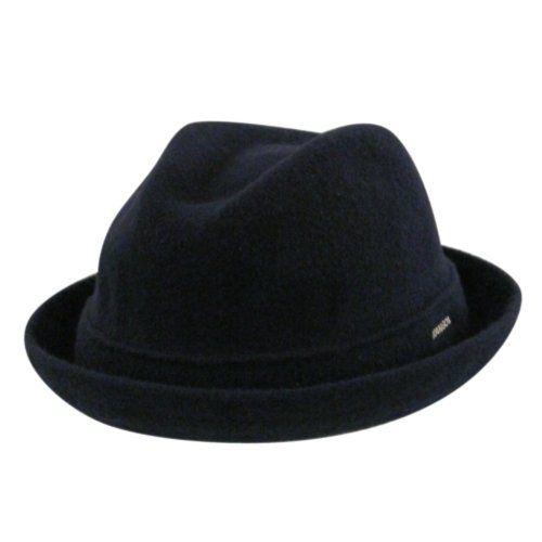 c45ec500104 Amazon.com  Kangol Kids Wool Player Navy Ks  Fedoras  Clothing ...