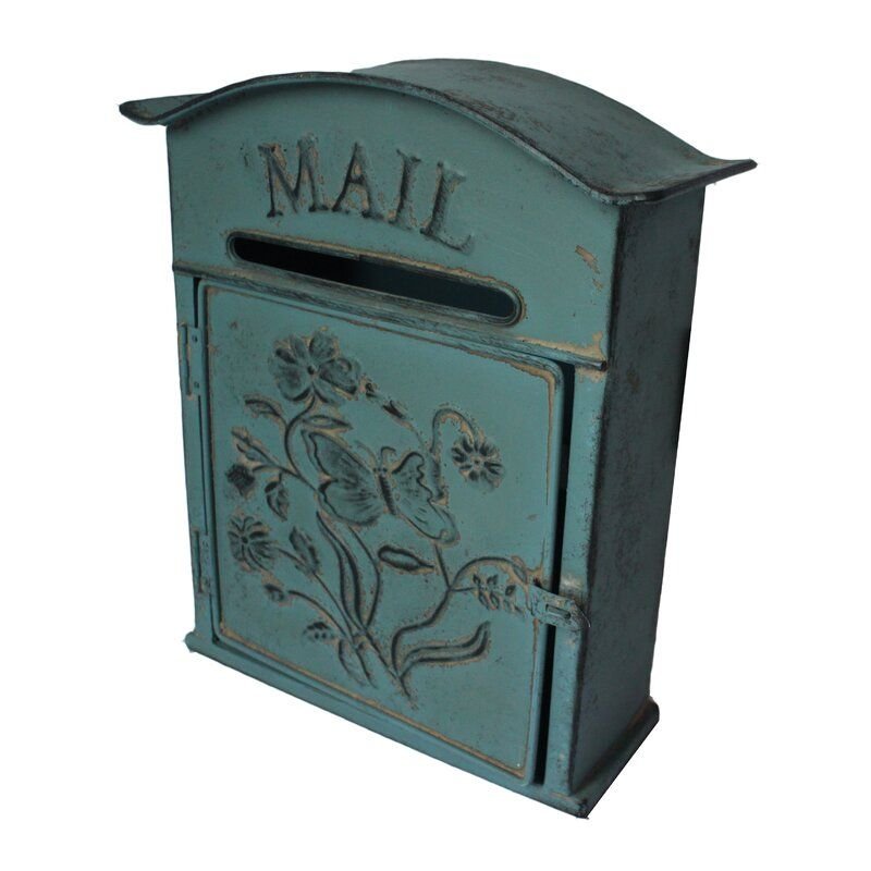 Delaney Wall Mounted Letter Box In 2020 Lily Manor Letter Box Wall Mount Mailbox