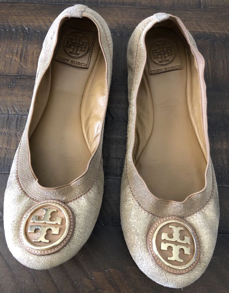 c6b73318c91f Tory Burch Brown Suede Slip On Round Toe Ballerina Flats US Size 8.5 M   fashion  clothing  shoes  accessories  womensshoes  flats (ebay link)