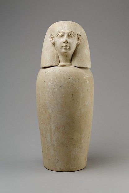 Canopic Jar With Human Head Imsety Ca 800650 Bc Egypt The