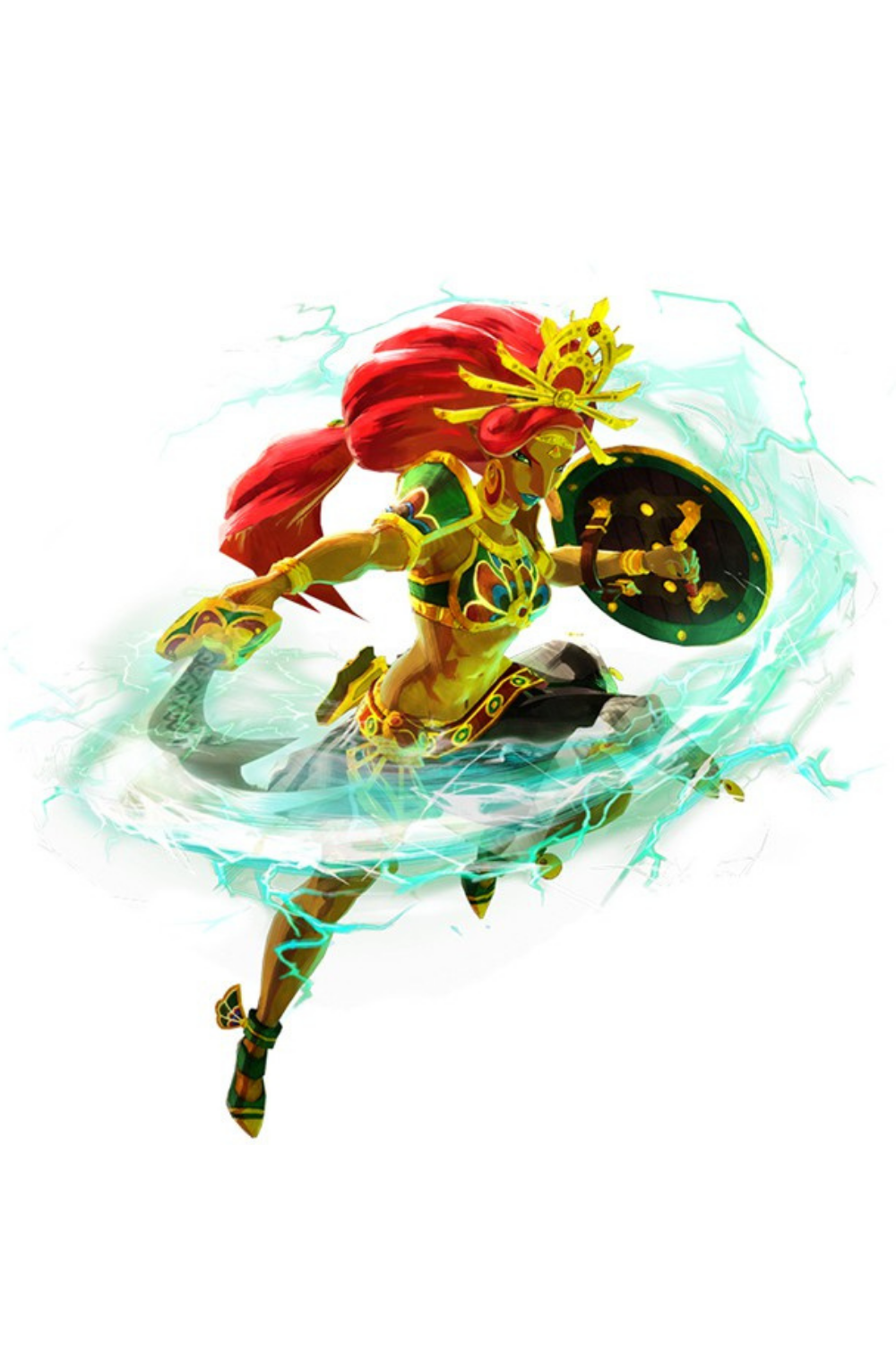 Urbosa Hyrule Warriors Age Of Calamity Hyrule Warriors Tag Art Calamity
