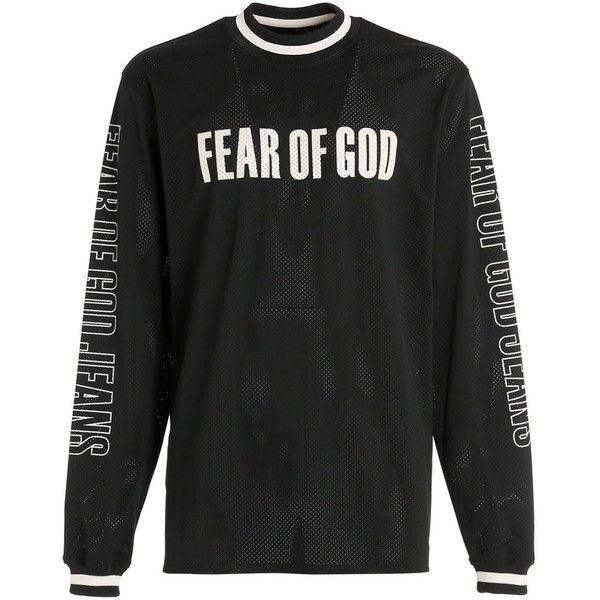 c0253b6af6c Fear Of God Men Motocross Techno Jersey   Mesh T-shirt ( 1
