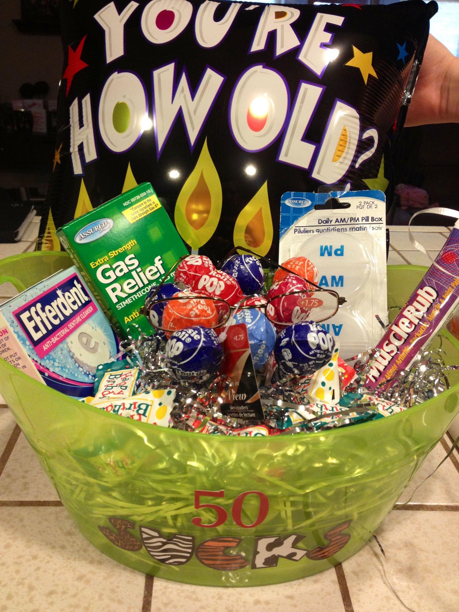 50th birthday gift idea 50th birthday gag gifts