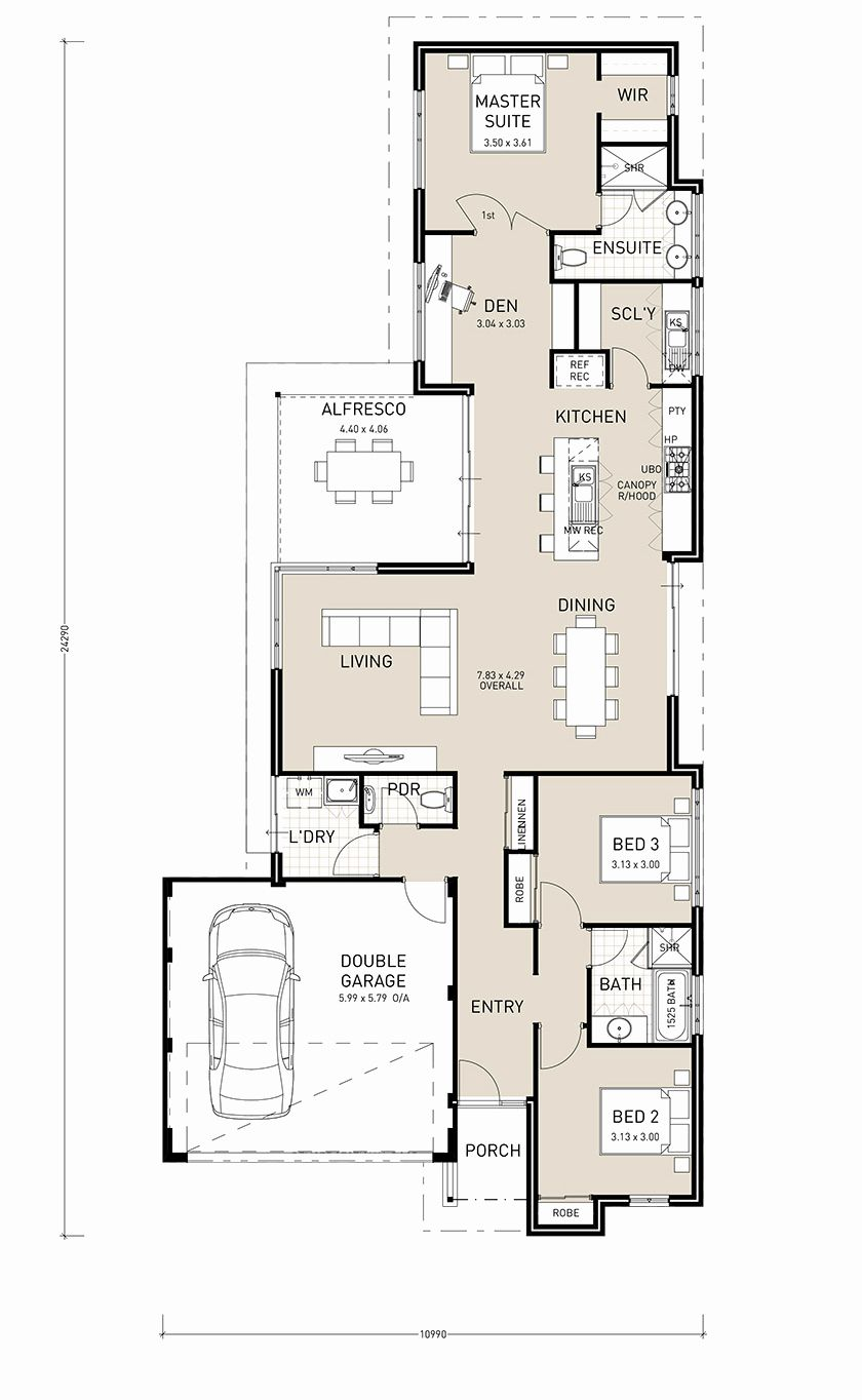 2 story house plans narrow block new house plan single story house plans for narrow blocks