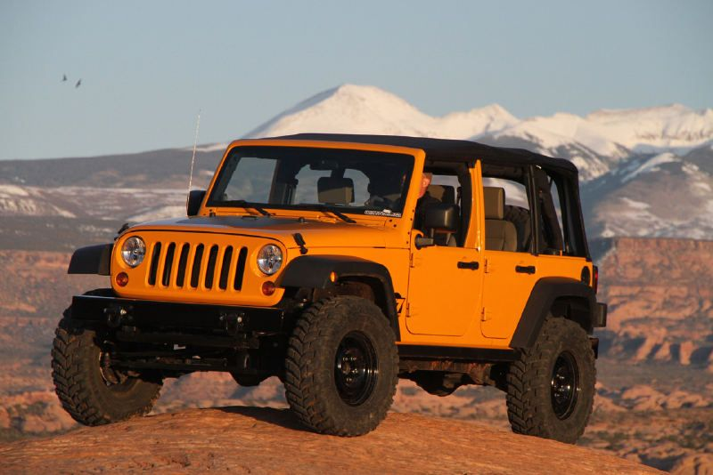 Everything But The Color Jeep Wrangler 2011 Jeep Wrangler 4