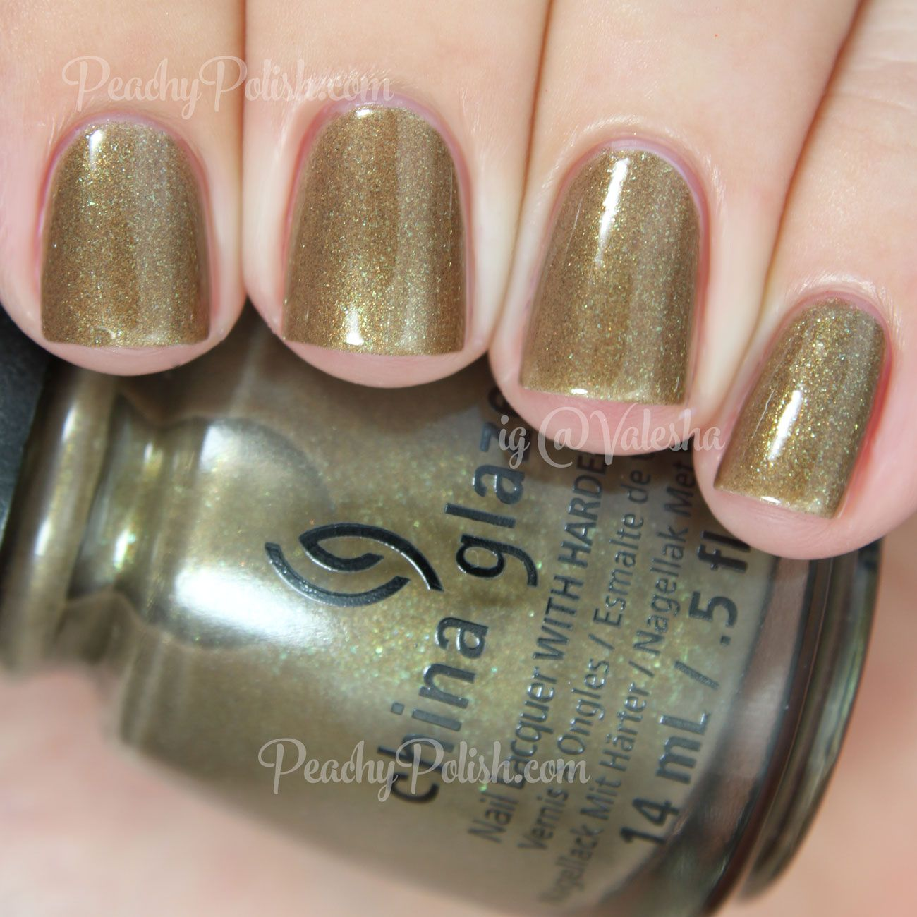 China Glaze Mind The Gap | Fall 2014 All Aboard Collection | Peachy ...
