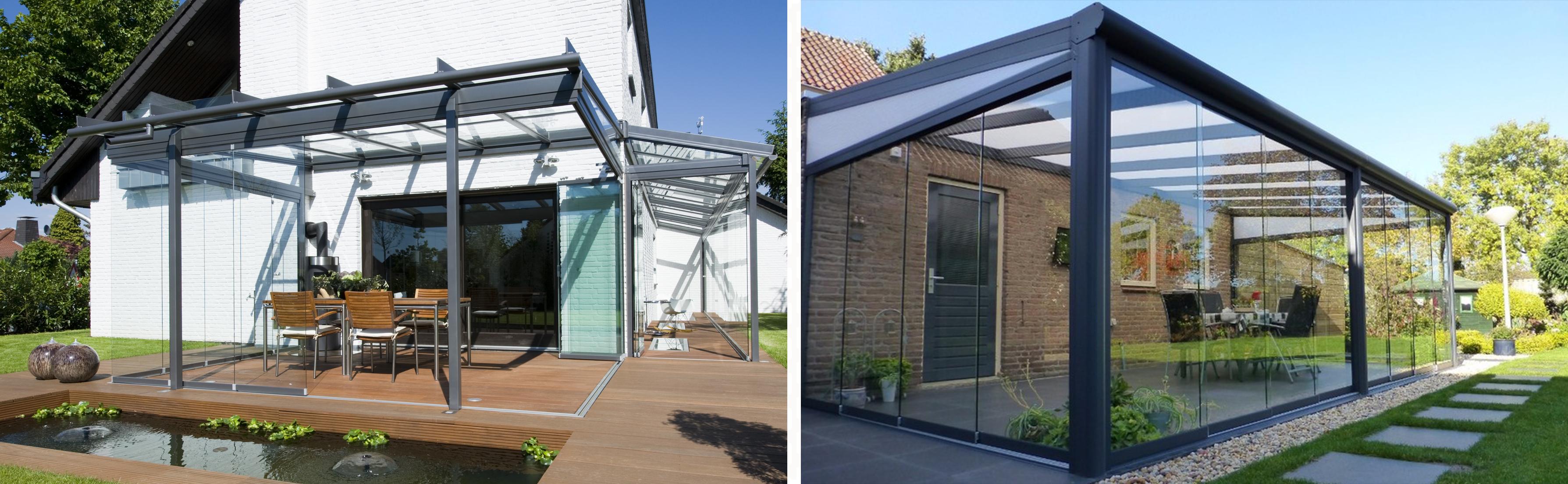 veranda sur mesure en verre (avec images) | Véranda en verre, Verriere de toit, Decoration exterieur