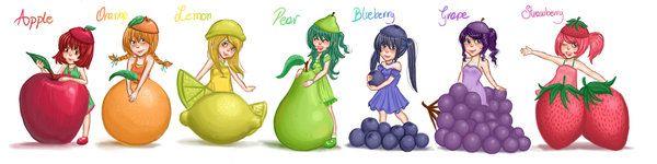 fruits by hirumy.deviantart.com on @DeviantArt