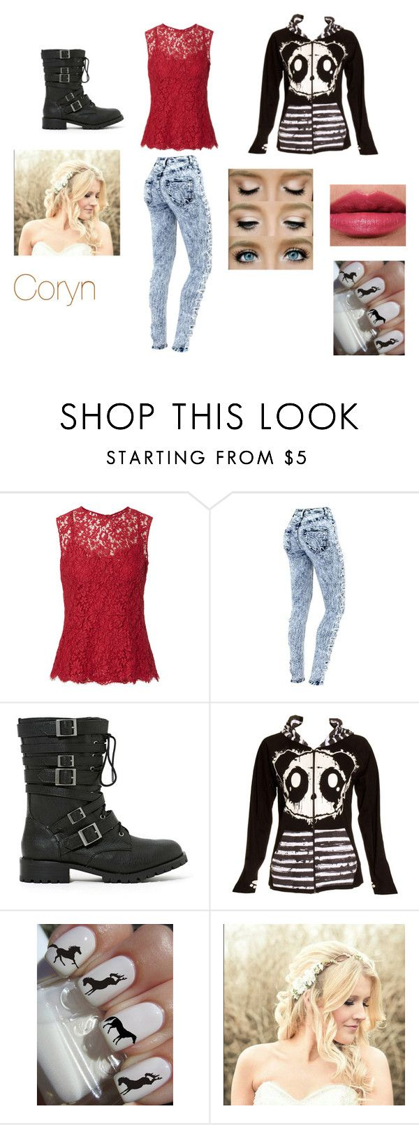 """coryn"" by frankie-lynn ❤ liked on Polyvore featuring beauty, Shoe Cult, Poizen Industries and Tom Ford"
