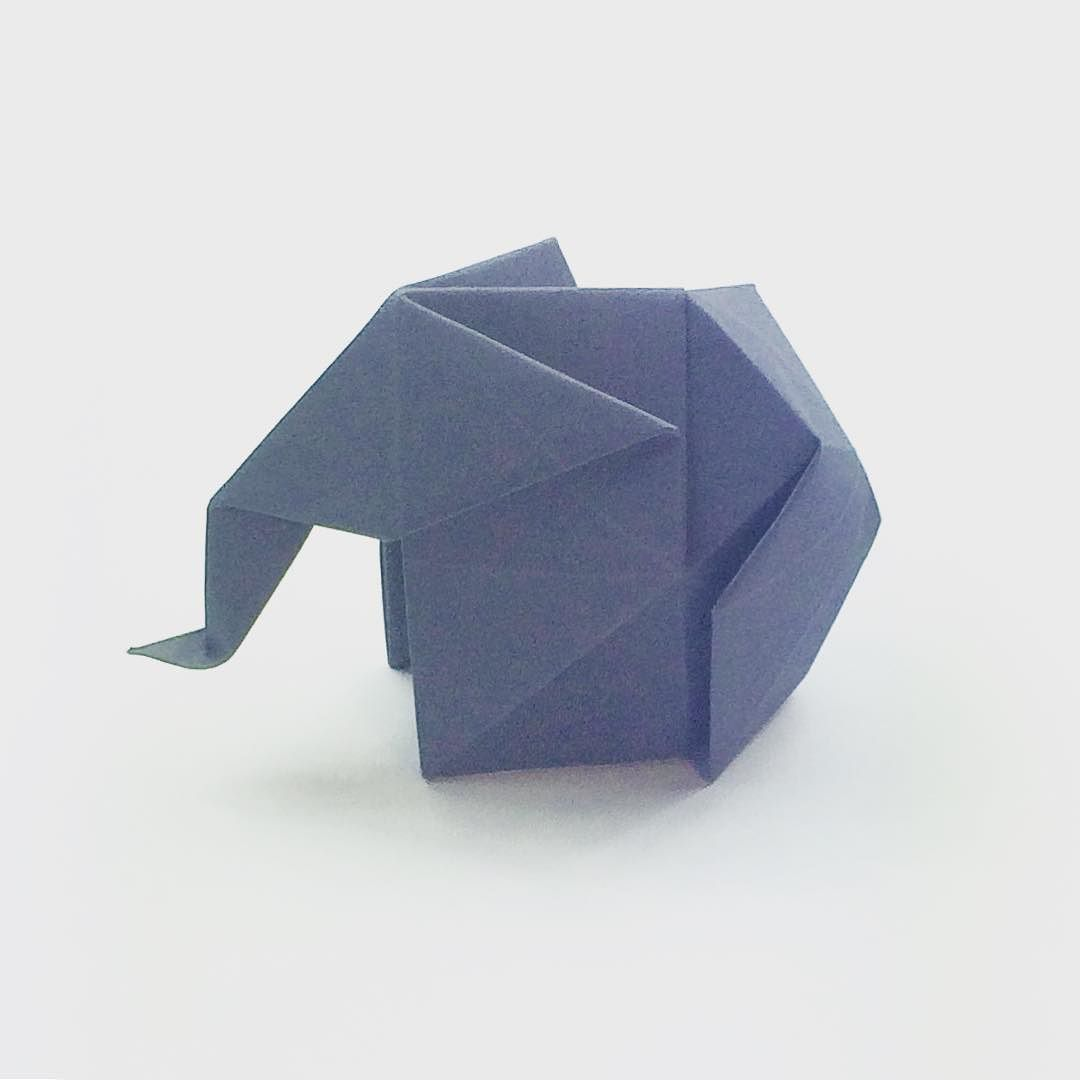 Been working on this fat elephant origami elephant been working on this fat elephant origami elephant origamielephant paperkawaii paperfolding jeuxipadfo Choice Image