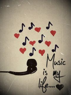 Download Free Music Is My Life Mobile Wallpaper Contributed By