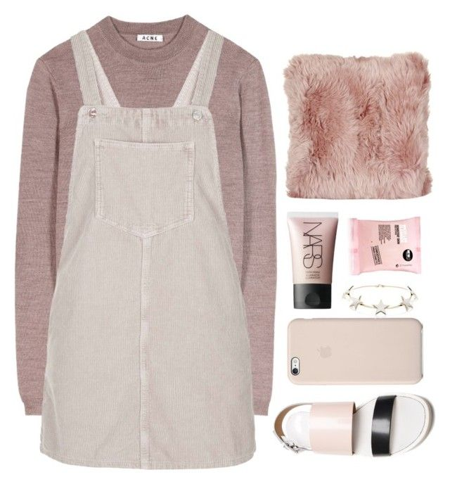 """4:24pm"" by londonhype ❤ liked on Polyvore featuring Acne Studios, Topshop, Black Apple, Givenchy, NARS Cosmetics, Natures Collection and Comodynes"