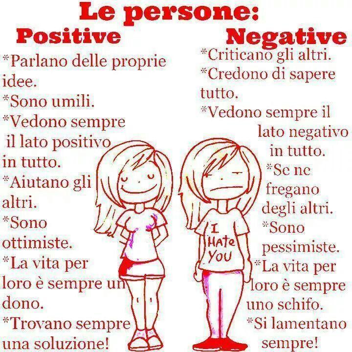 Le persone positive