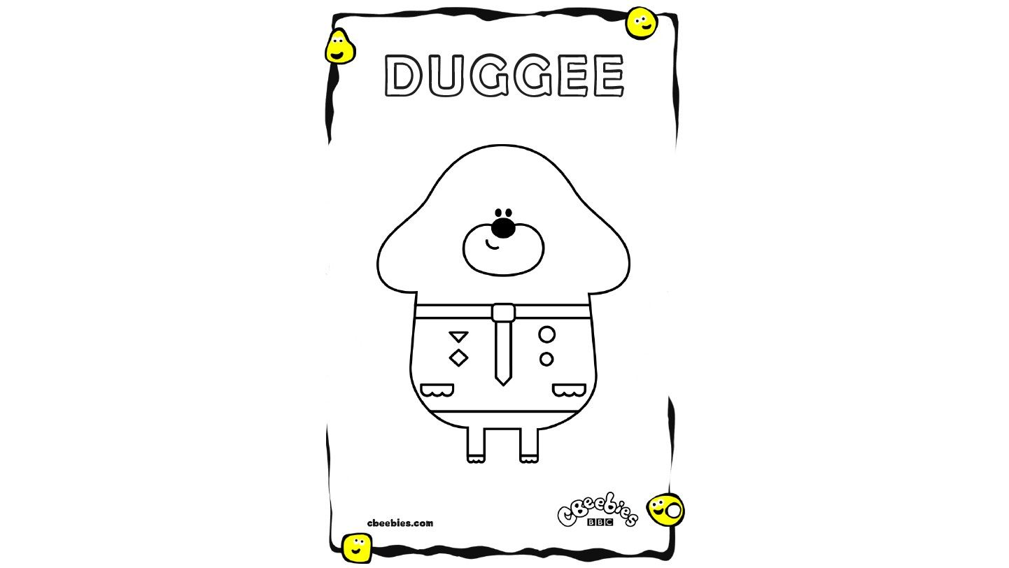 hey duggee colouring sheets - Google Search | Cbeebies cakes | Pinterest