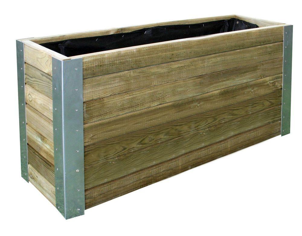 details zu pflanzkasten bambou 100x50x30 cm pflanzk bel holz impr gniert pflanzk bel holz. Black Bedroom Furniture Sets. Home Design Ideas