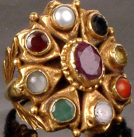 Navaratna Ring Baubles Inspiration Pinterest