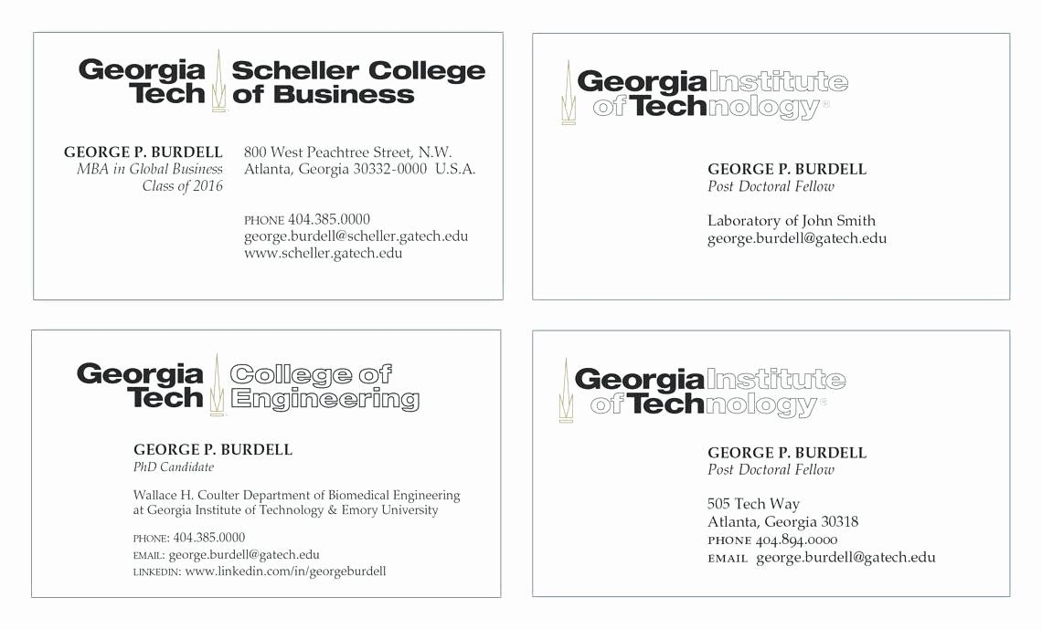 Student Business Cards Template Beautiful Phd Business Card Fresh Student Business C Student Business Cards Free Business Card Templates Business Card Template