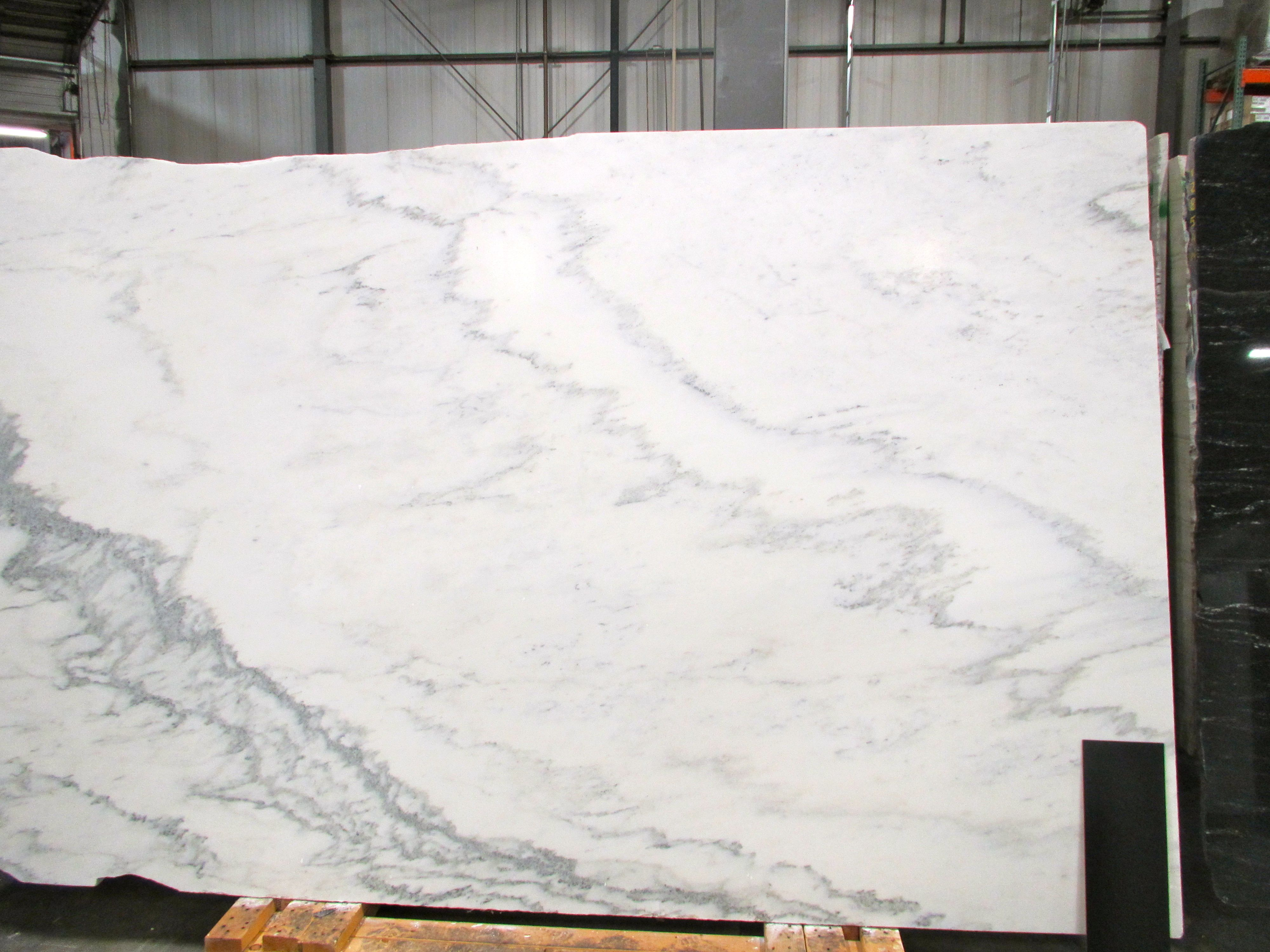 Our Vermont Danby Marble Slab For The Kitchen Island My