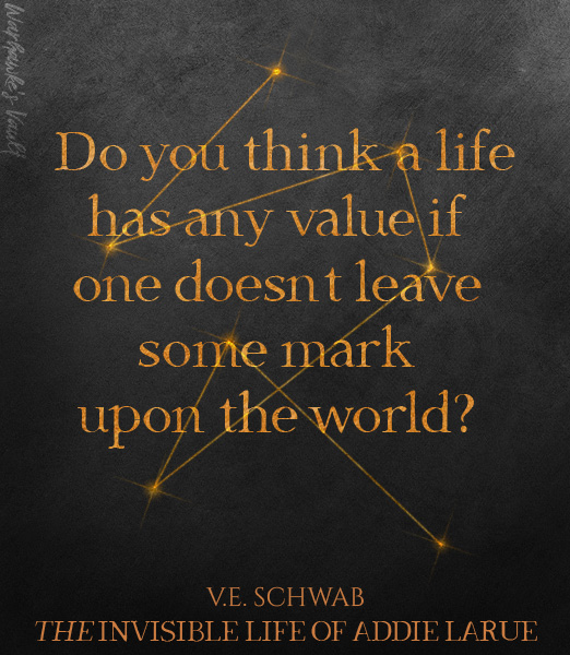 Review: The Invisible Life of Addie LaRue by V.E. Schwab