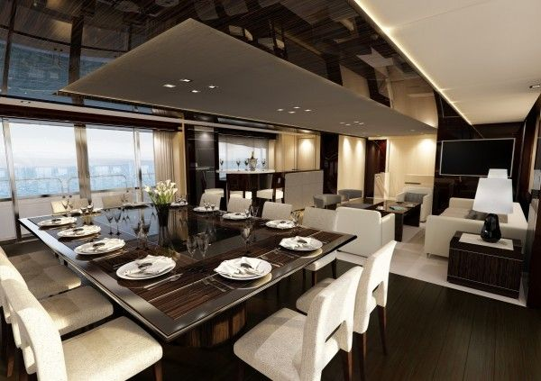 Luxury Yacht Interior Design Luxury Yacht Interior Yacht