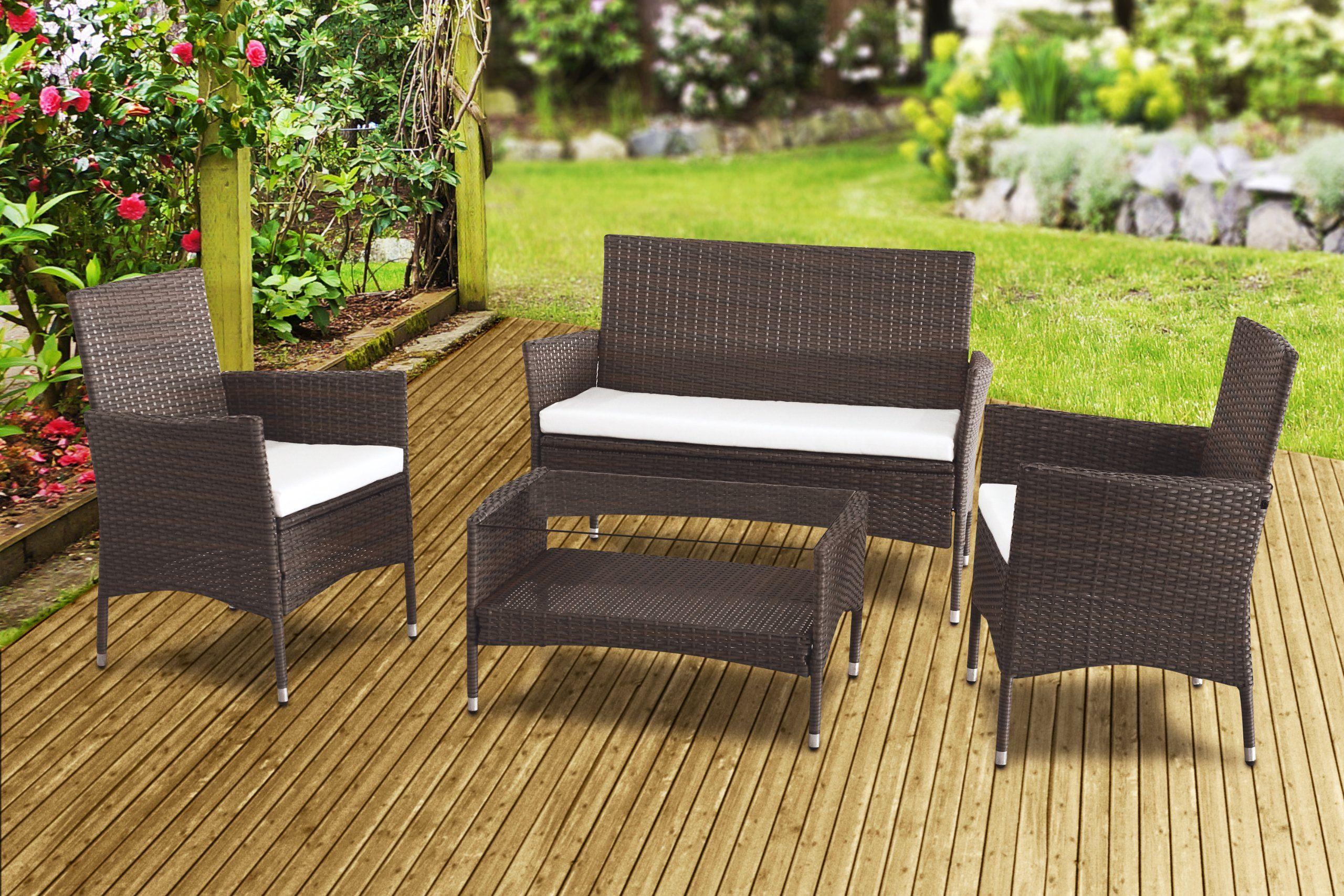New Zante Rattan Wicker Weave Garden Furniture Patio