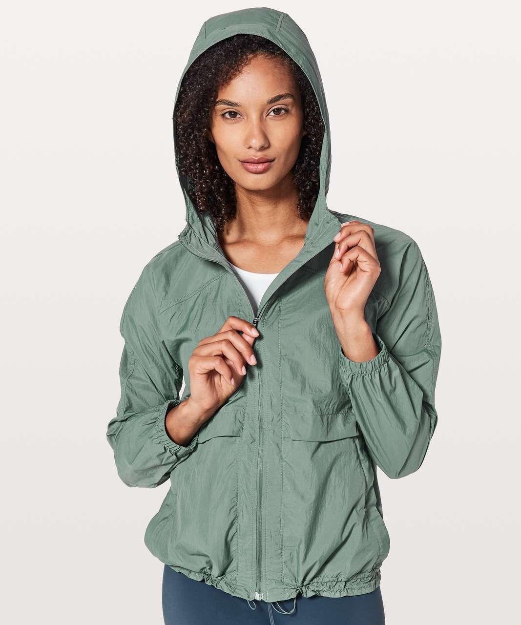 Lululemon Hood Lite Jacket Juniper Lulu Fanatics Jackets For Women Packable Jacket Outerwear Jackets [ 1280 x 1067 Pixel ]