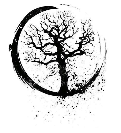 Pin by sagie ann on tattoos for Circular symbols tattoos
