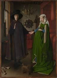 O matrimonio Arnolfini, de Jan Van Eyck