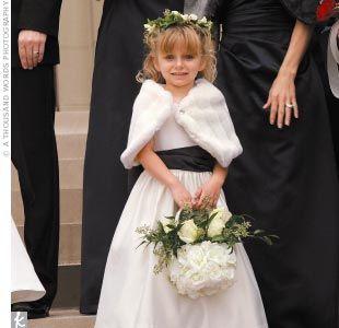 a2ba24dd48f Winter wedding flower girl ideas