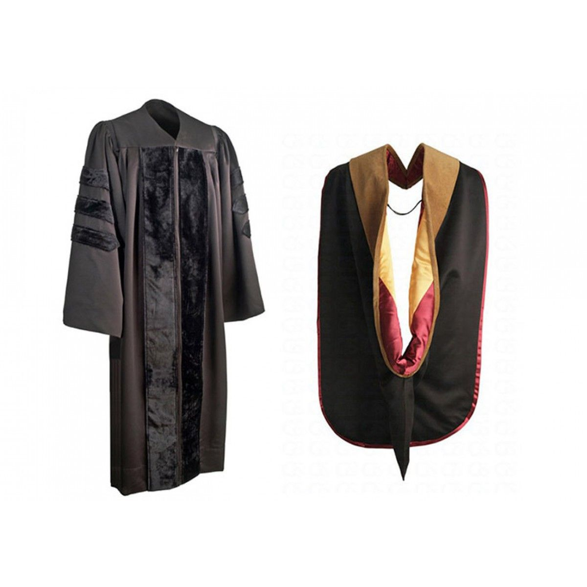 PHD Gown & Hood Package - Gown & Hood - Doctorate Products - College ...
