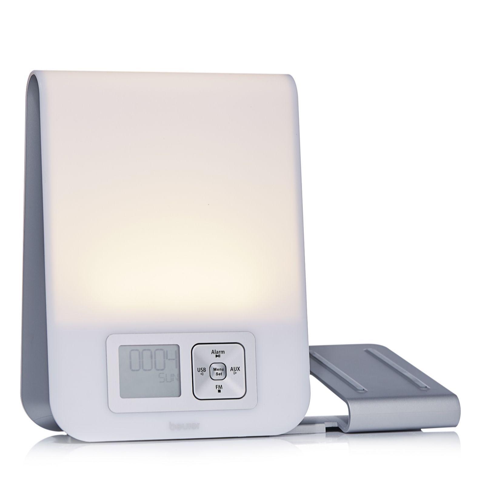 beurer bright light alarm clock qvc price 83 00 geezone rh pinterest com