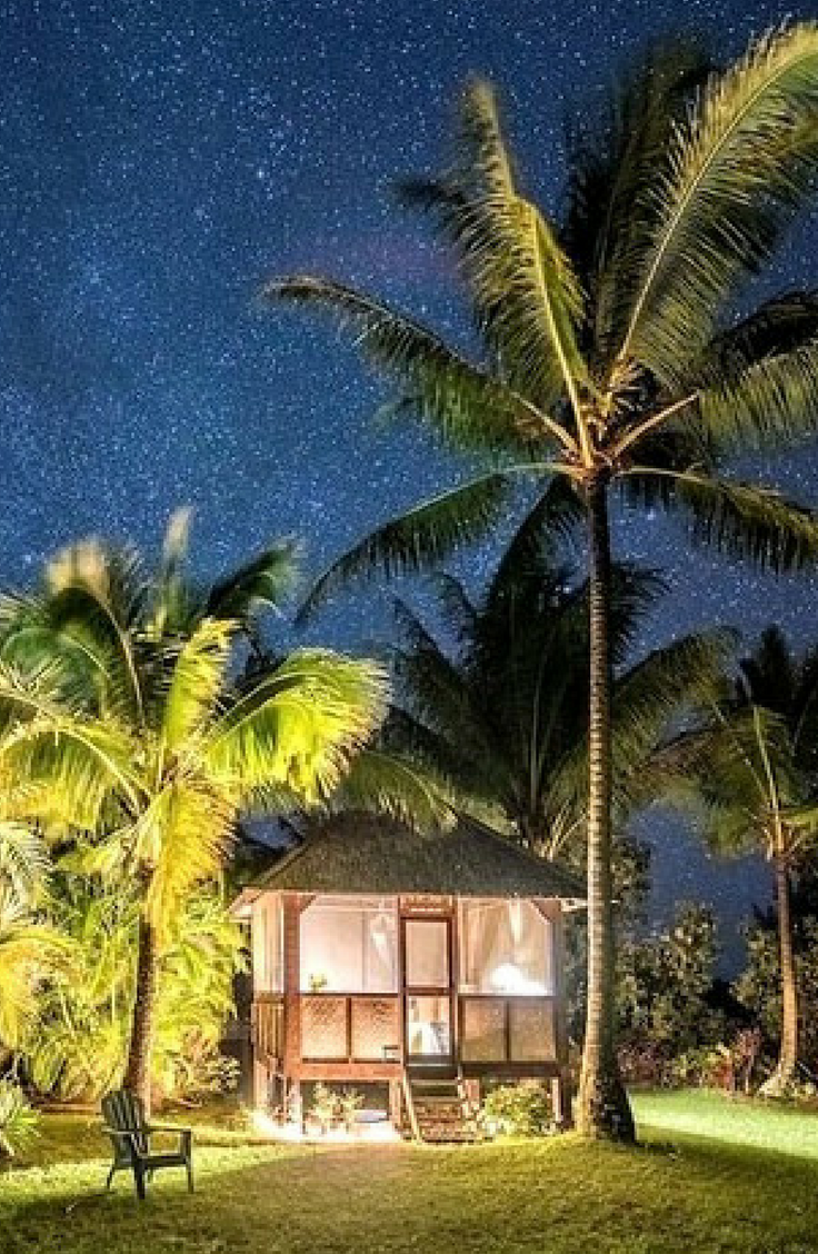 indonesian eco hut rental along the puna coast in p hoa hawaii in rh pinterest com