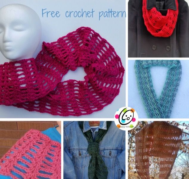 Free Pattern: Scarf and Cowl | Ropita de bebe, Bebe y Ropa