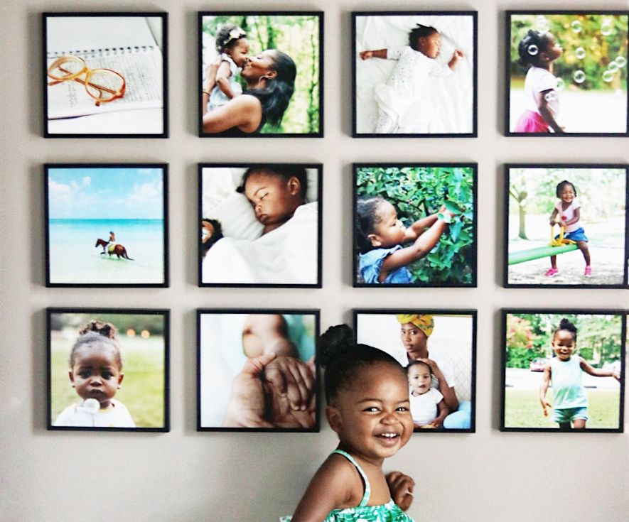 Mixtiles Turn Your Photos Into Affordable Stunning Wall Art And No Holes In The Wall Mixtiles Photo Tiles Photo Wall Gallery