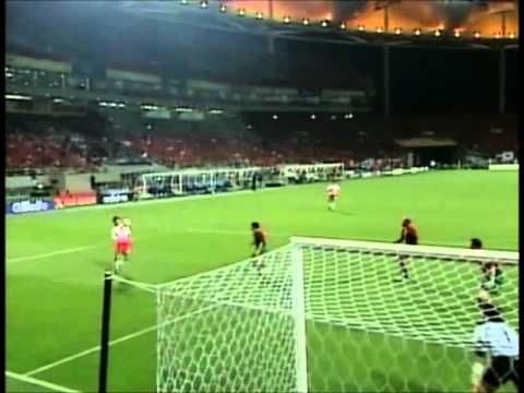 WC 2002. Ji Sung Park goal. Korea vs Portugal. 박지성 골 포르투갈