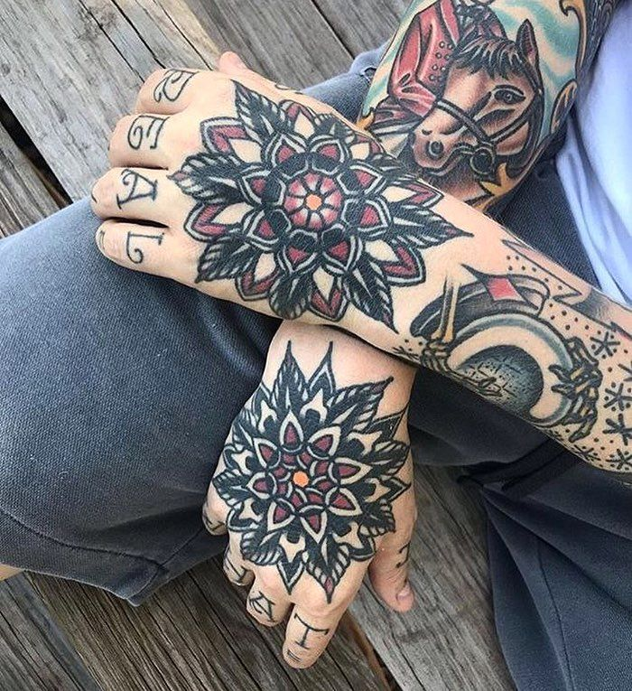 Tattoo By Tom Flanagan Tattoo Traditional Traditionaltattoo Traditionalartist Oldtatt Traditional Hand Tattoo Traditional Tattoo Hand Tattoos