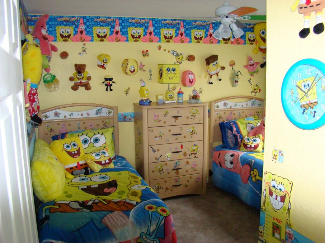Attrayant Spongebob Bedroom Wallpaper Guest Decorating Ideas Check