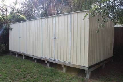 6x3m large colorbond garden workshop shed storage bluescope steel sheds - Garden Sheds Gumtree