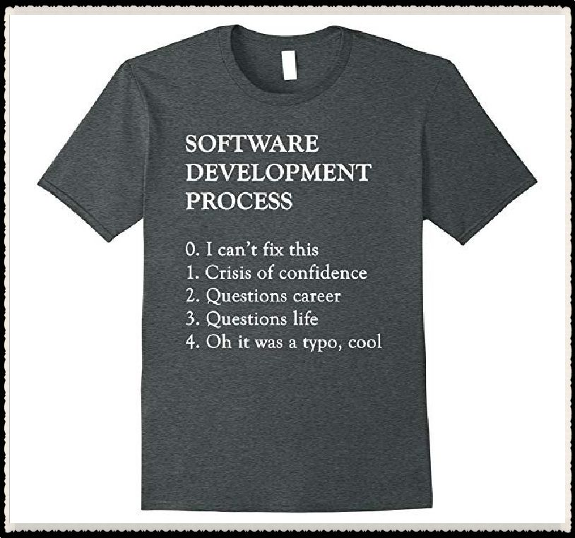 e03fcebe2 Software Development T-Shirt | Funny Coding Programming Tee ...