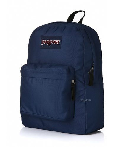 a6392a069 JANSPORT SUPERBREAK BACKPACK SCHOOL BAG - Navy Blue (JoyAve) by JanSport.  $26.99. 100% Authentic guaranteed. New with tags Head out the door with  everything ...