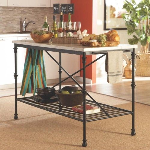 coaster kitchen carts kitchen island with faux marble top coaster fine furniture kitchen on kitchen island ideas kitchen bar carts id=69381