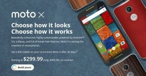 Moto X (2014) gets a price cut to 9.99 off-contract in Moto Maker - News Phones