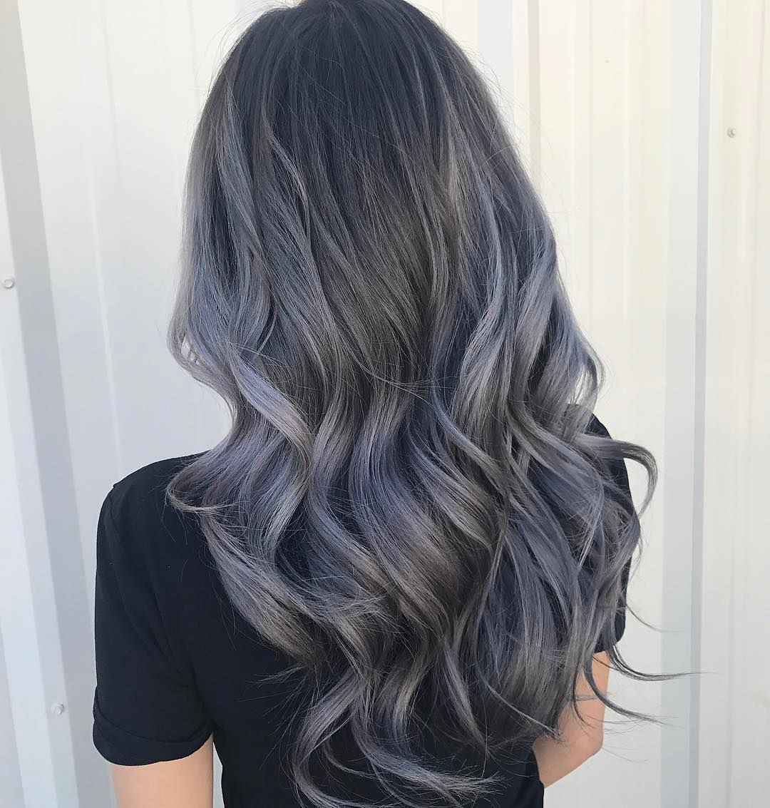Charcoal Hair The New Low Key Trend On Instagram Bold Hair Color Charcoal Hair Hair Styles