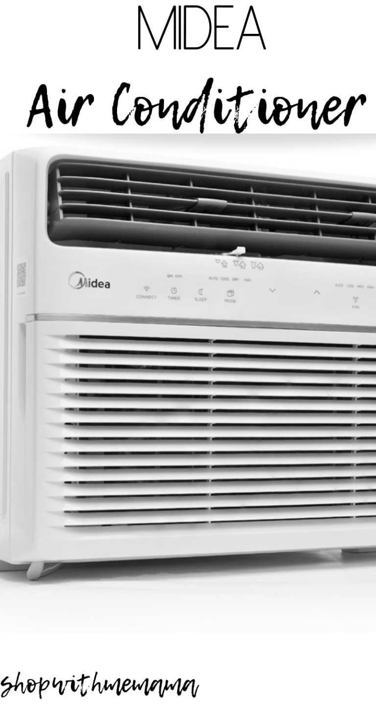 Midea Ac Smartcool Window Air Conditioner Window Air Conditioner Energy Saver Going To Work