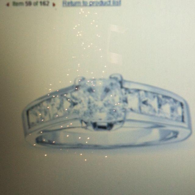Love princess cut diamonds