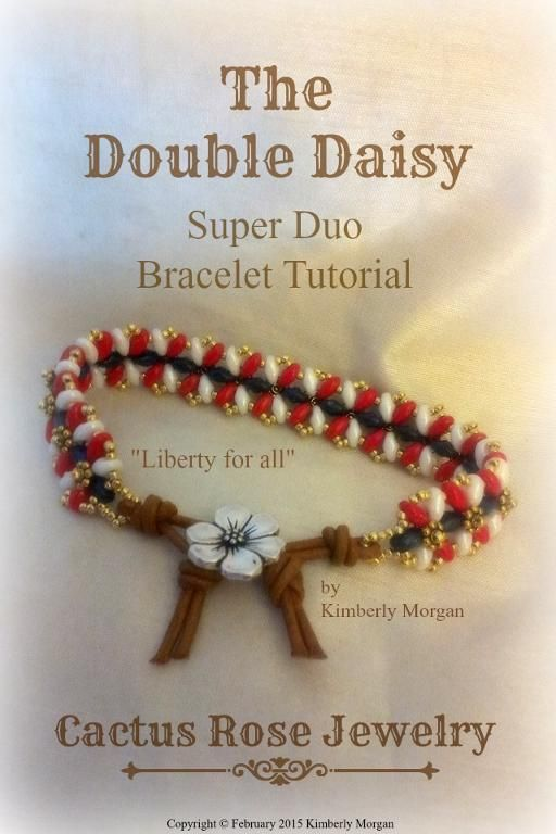 (5) Name: 'Jewelry : The Double Daisy Bracelet