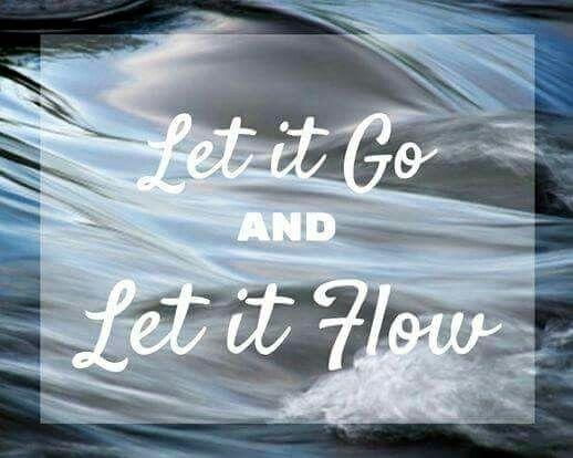 Das Leben ist ein langer ruhiger Fluss... Und manchmal eine reissende Stromschnelle. Doch Festhalte  ist nie die richtige Lösung!