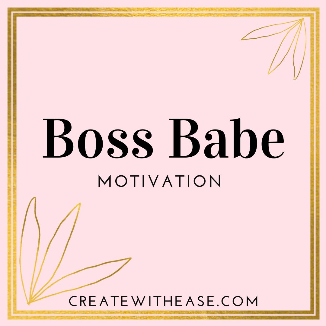 Photo of Boss Babe Motivation