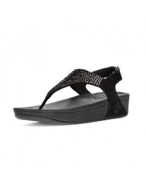 b45de496a76f49 Womens Fitflop Flare Sapphire Sandals Black
